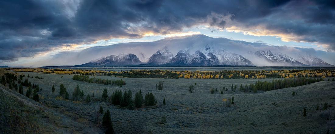 Magnificent Tetons - Grand Teton National Park, Wyoming