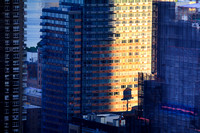 Early Morning & Water Tower Shadow - Manhattan, New York