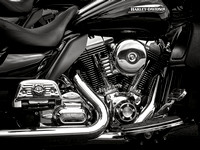 The King of Chrome: Harley-Davidson