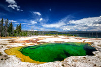 Emerald Pond - Yellowstone National Park, Wyoming