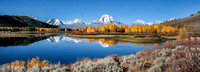 Glorious October Morning - Grand Teton National Park, Oxbow Bend - Wyoming