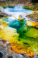 Thermal Spring - Yellowstone National Park, Wyoming